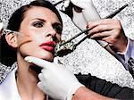 Cosmetic surgery in your lunch hour    Stock Photo - Premium Rights-Managed, Artist: urbanlip.com, Code: 847-02781240