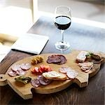 Charcuterie Platter    Stock Photo - Premium Rights-Managed, Artist: Derek Shapton, Code: 700-02791643