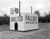 1950s CIVIL DEFENSE FALLOUT SHELTER    Stock Photo - Premium Rights-Managednull, Code: 846-02795408