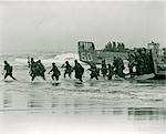 1960s MARINES LANDING ON SHORE DURING BLUE MARLIN EXERCISE IN VIETNAM