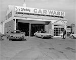 1970s RETRO AUTOMOBILE CAR WASH