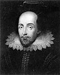 HEAD & SHOULDERS PORTRAIT OF SHAKESPEARE    Stock Photo - Premium Rights-Managed, Artist: ClassicStock, Code: 846-02796412