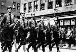 1930s 1940s GERMAN NAZI TROOPS ON PARADE