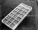 1930s COLD FROSTY ALUMINUM ICE CUBE TRAY    Stock Photo - Premium Rights-Managed, Artist: ClassicStock, Code: 846-02796780