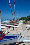Boats on Sanur Beach, Bali, Indonesia, Southeast Asia, Asia    Stock Photo - Premium Rights-Managed, Artist: Robert Harding Images, Code: 841-02824758