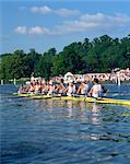 Royal Regatta, Henley on Thames, Oxfordshire, England, United Kingdom, Europe    Stock Photo - Premium Rights-Managed, Artist: Robert Harding Images, Code: 841-02825226