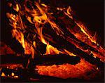 Log fire at night    Stock Photo - Premium Rights-Managed, Artist: Robert Harding Images, Code: 841-02825231