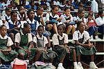 School sports day, Arima, Trinidad, West Indies, Caribbean, Central America