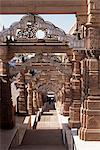 Magnificent Jain temple built in the 10th century, dedicated to Mahavira, Osiyan, Rajasthan state, India, Asia    Stock Photo - Premium Rights-Managed, Artist: Robert Harding Images, Code: 841-02826190