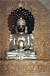 Statue in the Jain temple of Luderwa (Loduva), near Jaisalmer, Rajasthan state, India, Asia    Stock Photo - Premium Rights-Managed, Artist: Robert Harding Images, Code: 841-02826226