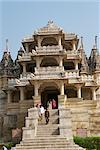 The Jain temple of Chaumukha, built in the 14th century, Ranakpur, Rajasthan state, India, Asia    Stock Photo - Premium Rights-Managed, Artist: Robert Harding Images, Code: 841-02826321