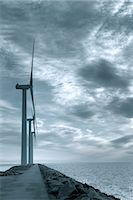 Wind Turbines, Ebeltoft, Syddjurs Municipality, Region Midtjylland, Jutland, Denmark Stock Photo - Premium Royalty-Freenull, Code: 600-02828460