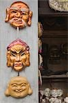 Wooden Masks, Souvenirs, Hanoi, Vietnam    Stock Photo - Premium Rights-Managed, Artist: dk & dennie cody, Code: 700-02828403