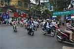 Traffic, Street Scene, Hanoi, Vietnam    Stock Photo - Premium Rights-Managed, Artist: dk & dennie cody, Code: 700-02828411