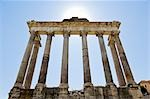 Temple of Saturn, Roman Forum, Rome, Latium, Italy Stock Photo - Premium Royalty-Free, Artist: Chris Hendrickson, Code: 600-02828589