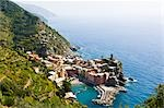 Vernazza, Province of La Spezia, Cinque Terre, Liguria, Italy Stock Photo - Premium Royalty-Free, Artist: Chris Hendrickson, Code: 600-02828613