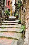 Lane, Vernazza, Province of La Spezia, Cinque Terre, Liguria, Italy Stock Photo - Premium Royalty-Free, Artist: Chris Hendrickson, Code: 600-02828616