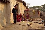 Village life near Deogarh, Rajasthan state, India, Asia
