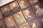 Photos of victims, Auschwitz, Makopolska, Poland, Europe    Stock Photo - Premium Rights-Managed, Artist: Robert Harding Images, Code: 841-02831360