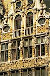 Gilded facade of Guild House, Grand Place, UNESCO World Heritage Site, Brussels, Belgium, Europe    Stock Photo - Premium Rights-Managed, Artist: Robert Harding Images, Code: 841-02831520