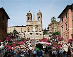 Spanish Steps, Rome, Lazio, Italy, Europe    Stock Photo - Premium Rights-Managed, Artist: Robert Harding Images, Code: 841-02832314