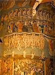 Part of huge mural of the Last Judgement, believed to be by Flemish artists dating from the late 15th century, in the nave of Ste. Cecile Cathedral, Albi, Midi-Pyrenees, France, Europe    Stock Photo - Premium Rights-Managed, Artist: Robert Harding Images, Code: 841-02832636