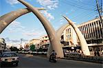 Tusks, Moi Avenue, Mombasa, Kenya, East Africa, Africa    Stock Photo - Premium Rights-Managed, Artist: Robert Harding Images, Code: 841-02832692
