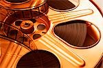 Close-up of Film Reel Stock Photo - Premium Royalty-Free, Artist: Ken Davies, Code: 600-02833197