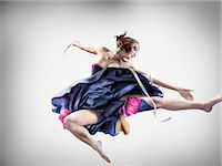 Portrait of Dancer Stock Photo - Premium Rights-Managednull, Code: 700-02833514