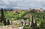 The Alhambra, Granada, Andalucia, Spain Stock Photo - Premium Rights-Managed, Artist: Jochen Schlenker, Code: 700-02833872