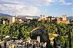 The Alhambra, Convento de Santa Catalina de Zafra in the Foreground, Granada, Andalucia, Spain Stock Photo - Premium Rights-Managed, Artist: Jochen Schlenker, Code: 700-02833878