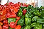 Close-up of Peppers at Farmer's Market Stock Photo - Premium Royalty-Free, Artist: Rick Fischer, Code: 600-02834023