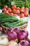 Vegetables at Farmer's Market Stock Photo - Premium Royalty-Free, Artist: Rick Fischer, Code: 600-02834027