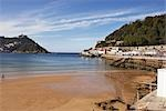Beach, San Sebastian, Gipuzkoa, Basque Country, Spain Stock Photo - Premium Rights-Managed, Artist: George Simhoni, Code: 700-02834069