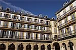 Buildings, San Sebastian, Gipuzkoa, Basque Country, Spain Stock Photo - Premium Rights-Managed, Artist: George Simhoni, Code: 700-02834071