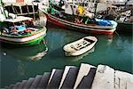 Fishing Boats, San Sebastian, Gipuzkoa, Basque Country, Spain Stock Photo - Premium Rights-Managed, Artist: George Simhoni, Code: 700-02834073