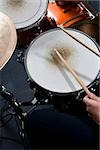 Detail of a man playing drums Stock Photo - Premium Royalty-Free, Artist: AWL Images, Code: 653-02835791