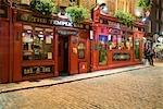 Temple Bar Pub at Night, Temple Bar, Dublin, Ireland