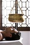 young man having Ayurvedic spa treatment Stock Photo - Premium Rights-Managed, Artist: Asia Images, Code: 849-02862642