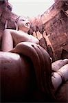 Thailand, Sukothai, Giant statue of Buddha Stock Photo - Premium Rights-Managed, Artist: Asia Images, Code: 849-02864754