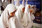 Indonesia, Jakarta, Students recite verses from the Koran at Asshiddiqiyah Islamic College. Stock Photo - Premium Rights-Managed, Artist: Asia Images, Code: 849-02865367