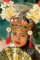 Indonesia, Bali, Young Balinese dancer in legong costume Stock Photo - Premium Rights-Managednull, Code: 849-02866237