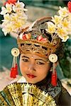 Indonesia, Bali, Young Balinese dancer in legong costume Stock Photo - Premium Rights-Managed, Artist: Asia Images, Code: 849-02866237