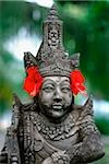 Indonesia, Bali, stone statue with flowers Stock Photo - Premium Rights-Managed, Artist: Asia Images, Code: 849-02866245