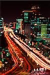 Indonesia, Jakarta, JL Thamrin, night shot Stock Photo - Premium Rights-Managed, Artist: Asia Images, Code: 849-02866394