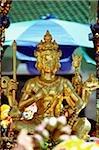 Thailand, Bangkok, Erawan Shrine, 4-faced Buddha.