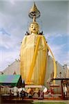 Thailand, Bangkok, Wat Indraram, Large statue of Buddha. Stock Photo - Premium Rights-Managed, Artist: Asia Images, Code: 849-02866468