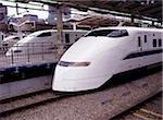 Japan, Tokyo, Shinkansen (bullet train) at Tokyo Station Stock Photo - Premium Rights-Managed, Artist: Asia Images, Code: 849-02866709