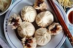 China, Shanghai, Chinese pork dumplings. Stock Photo - Premium Rights-Managed, Artist: Asia Images, Code: 849-02867063