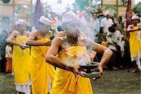 Indonesia, Bali, Dancers performing sacred dance (Kintamani). Stock Photo - Premium Rights-Managednull, Code: 849-02867245